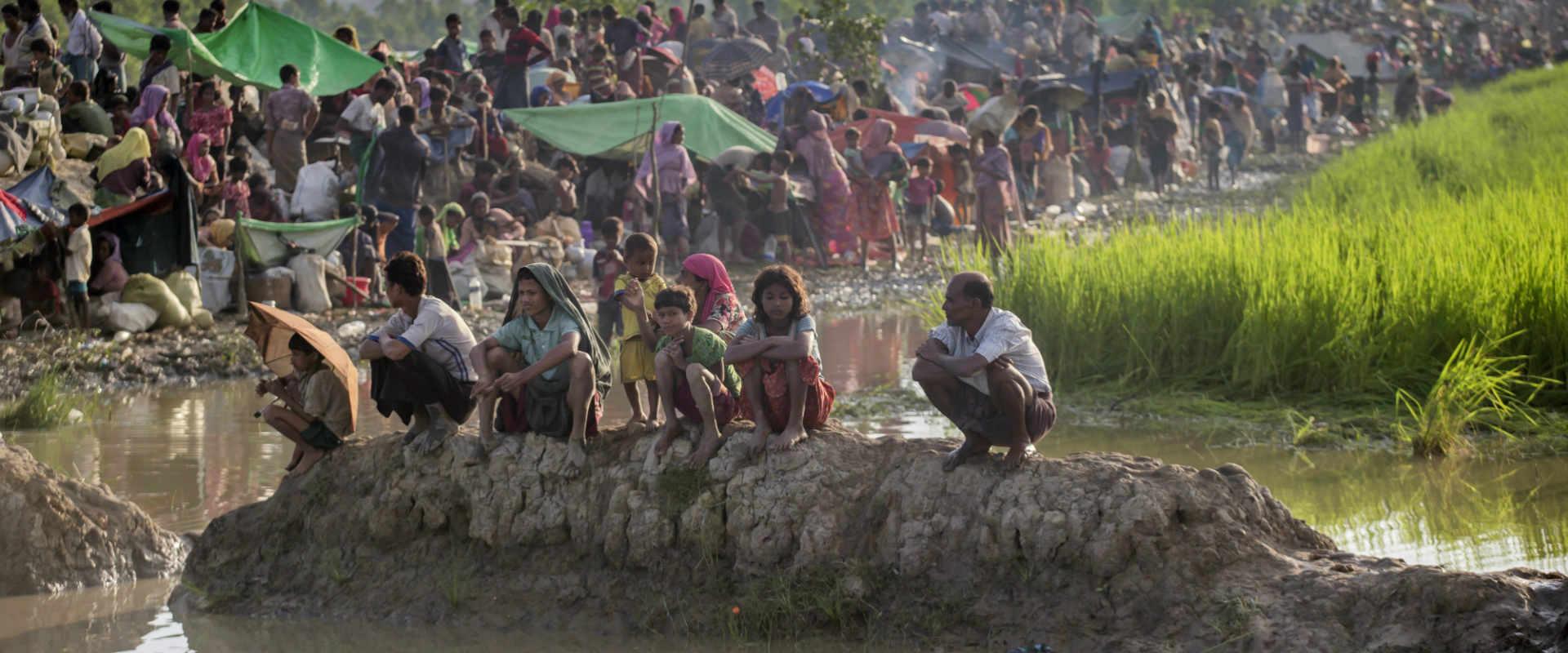 פליטים בני רוהינגיה, אוקטובר 2017