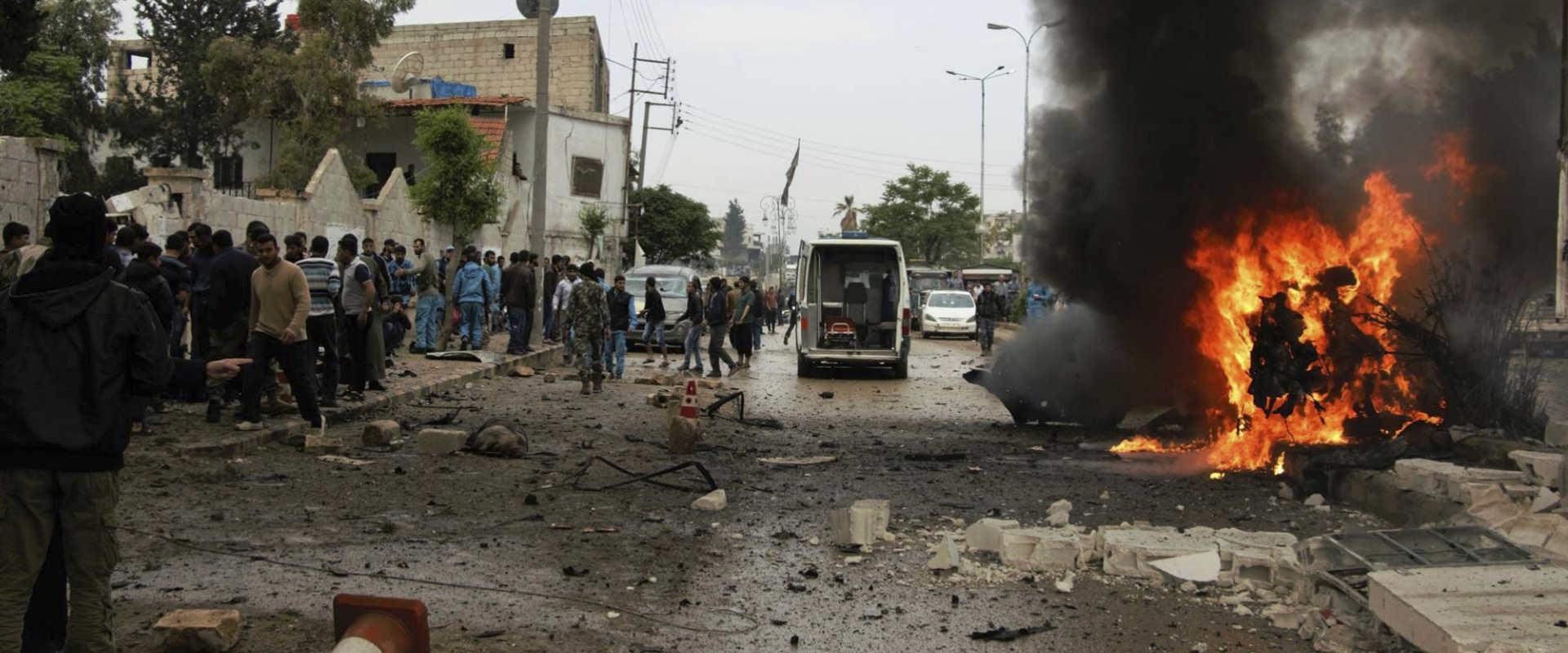 פיצוץ מכונית בצפון סוריה, 3 במאי 2017