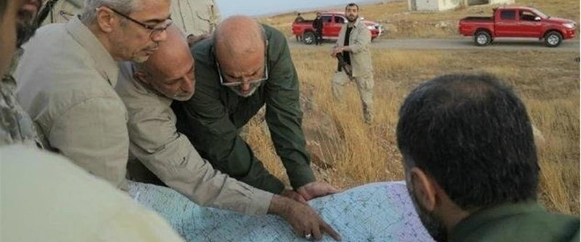 התערבותה של איראן בסוריה
