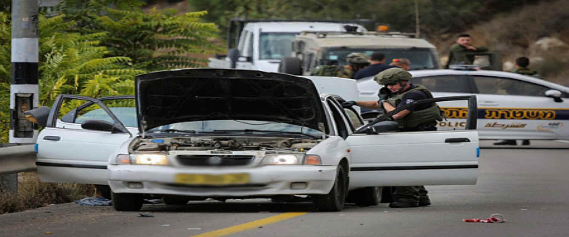 זירת הירי הקטלני ליד נבי סאלח, 31 באוקטובר