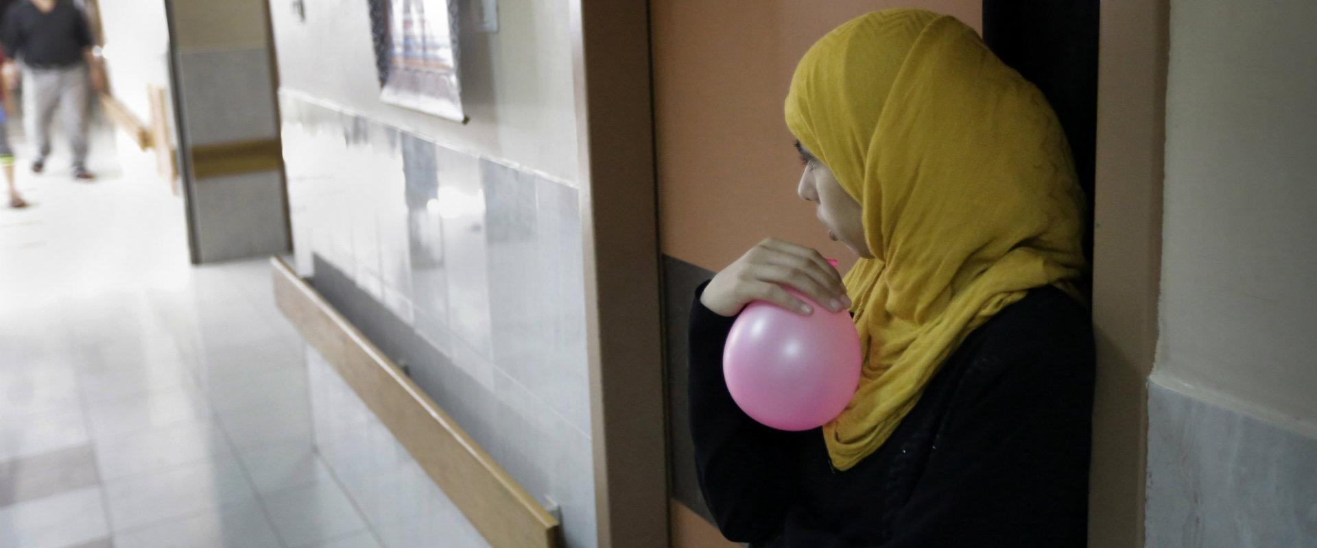 נערה ערבייה בבית חולים ישראלי