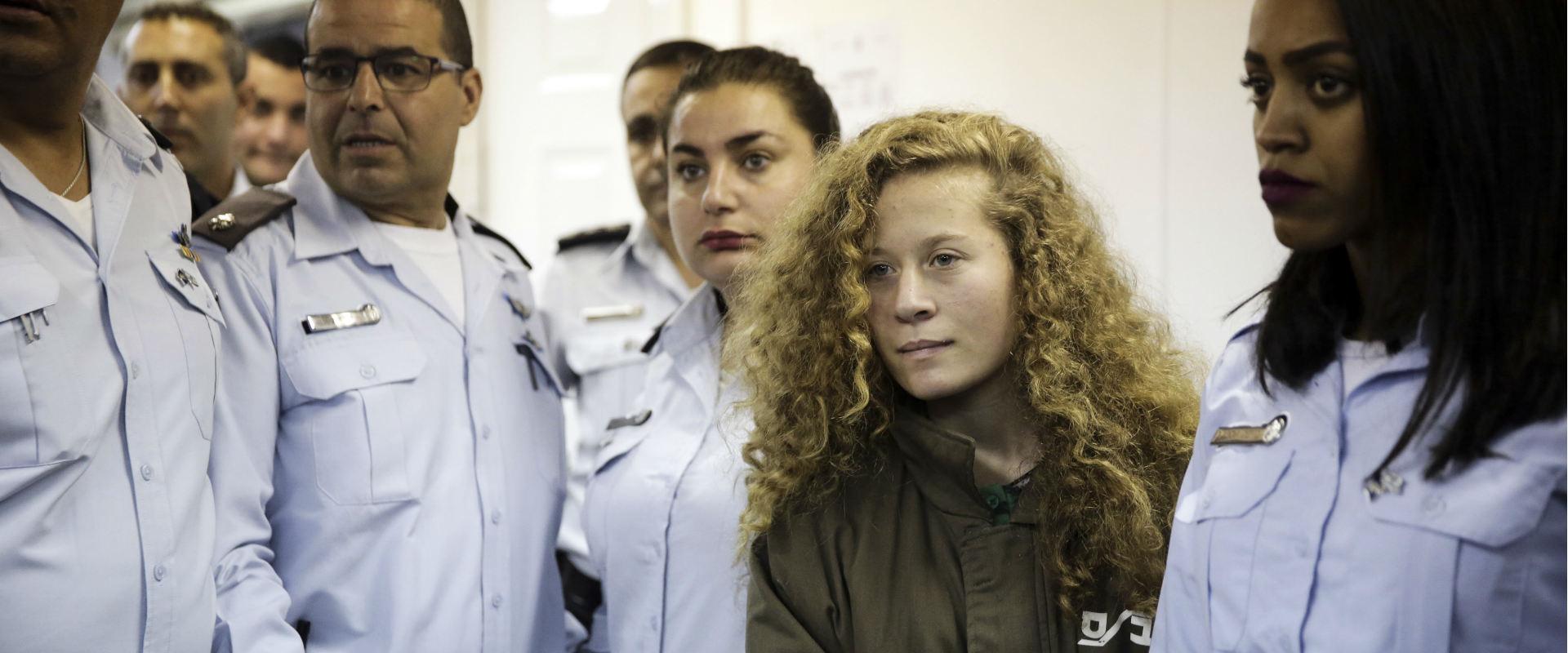 עהד תמימי, בבית המשפט הצבאי במחנה עופר