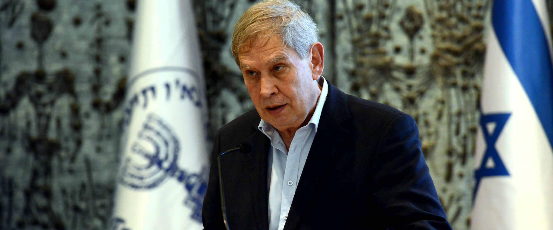 ראש המוסד לשעבר תמיר פרדו