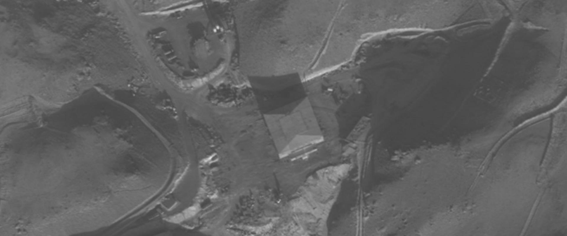 """הכור הסורי לפני תקיפת צה""""ל"""
