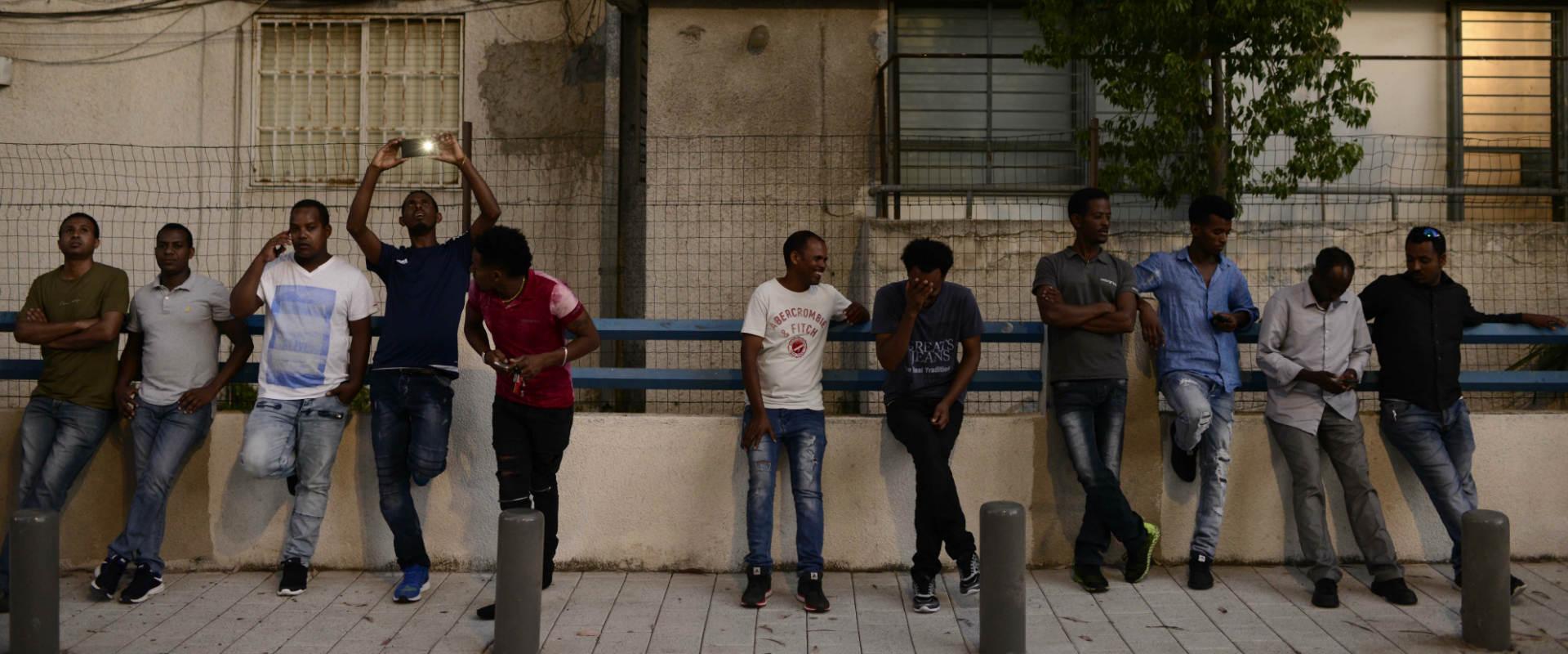 מבקשי מקלט בדרום תל אביב