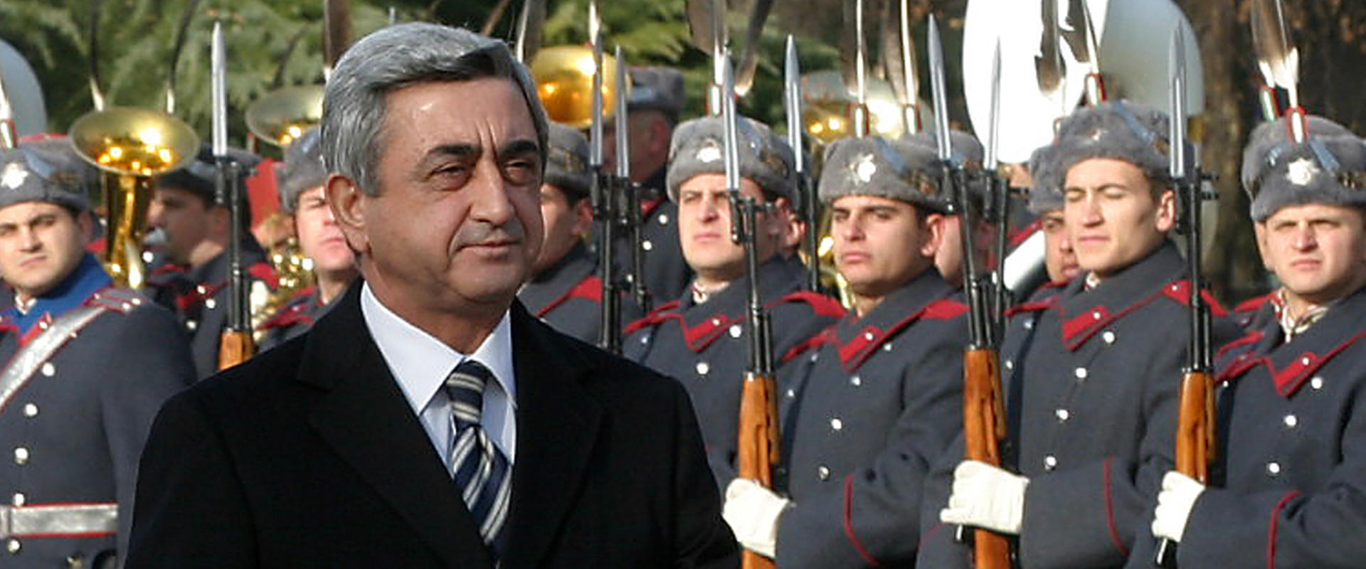 ראש ממשלת ארמניה לשעבר סרז' סרקזיאן