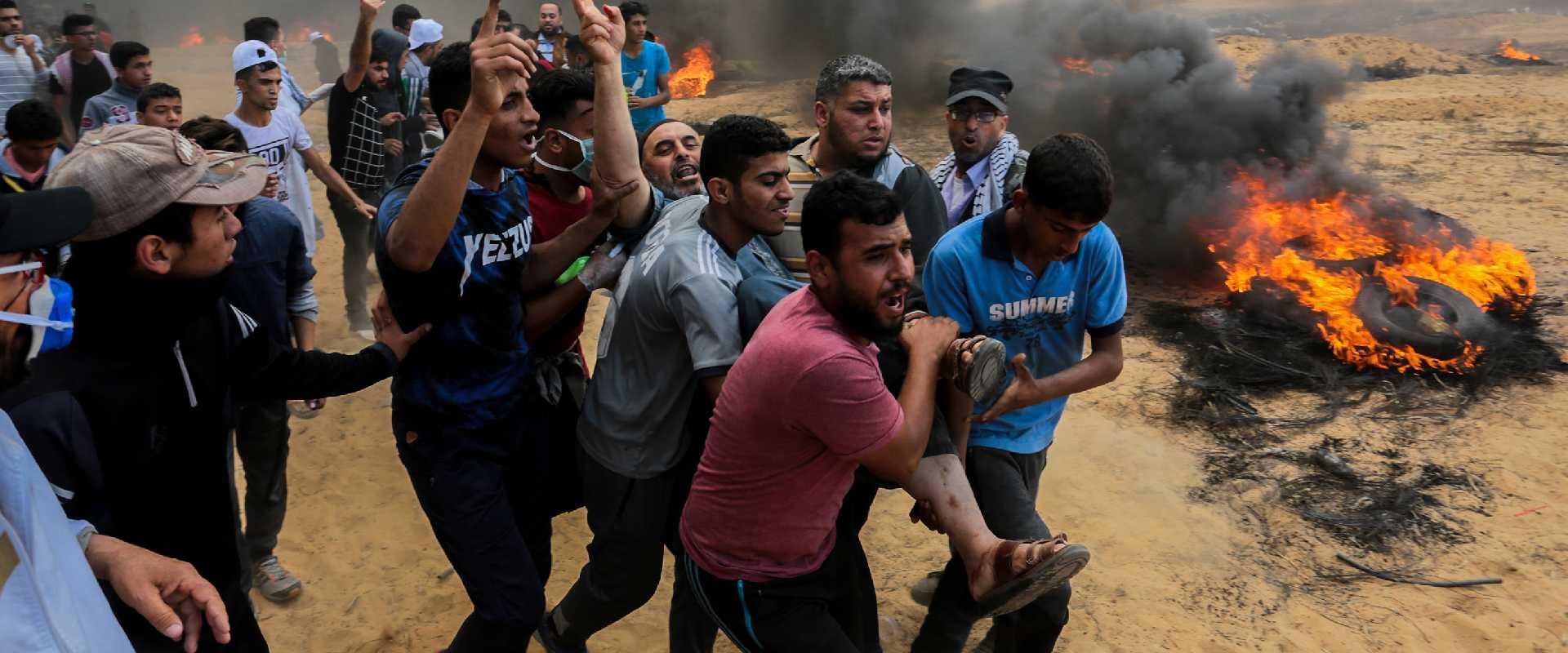 האירועים האלימים אתמול בגבול הרצועה