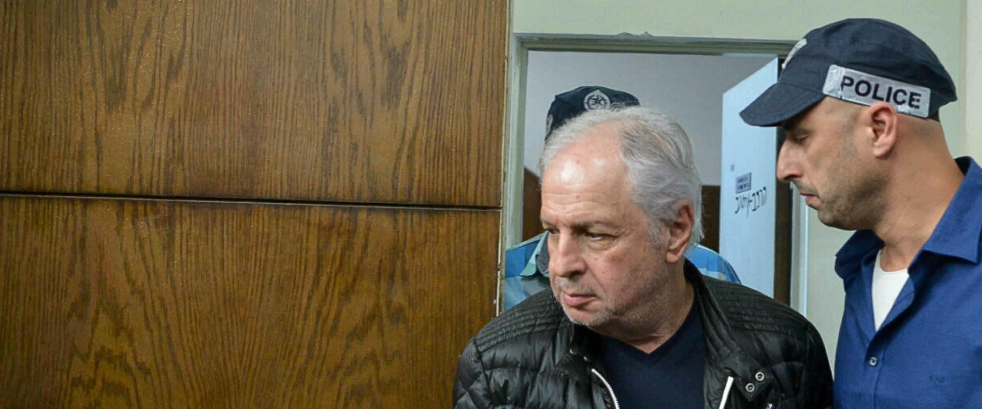 שאול אלוביץ' בבית המשפט