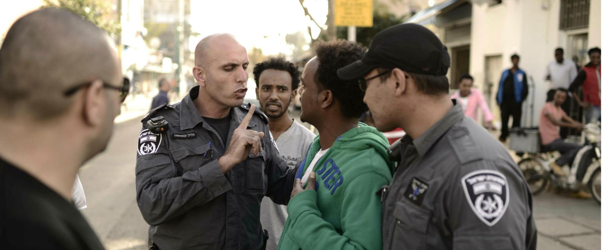 משטרה בדרום תל אביב