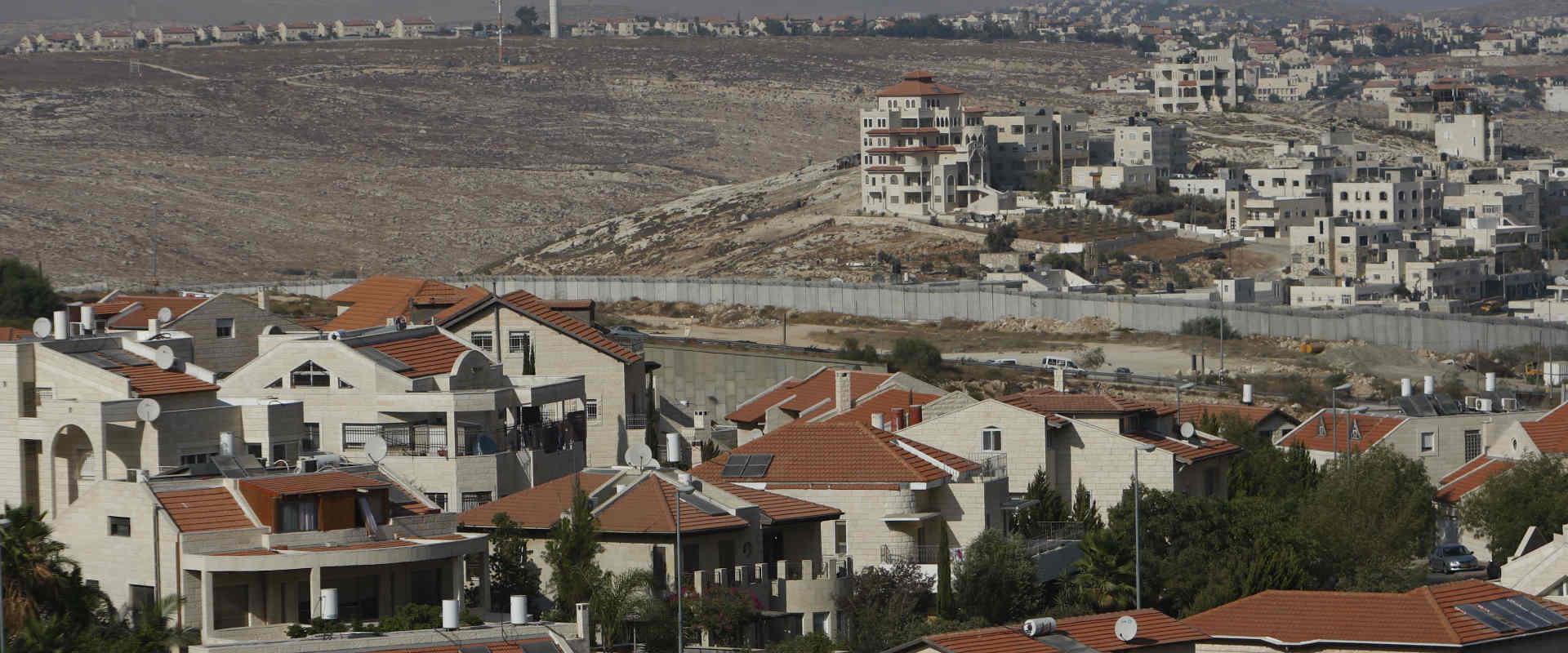 הנוף משכונת פסגת זאב בירושלים