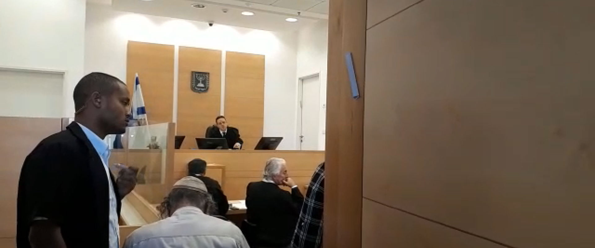 הדיון בבית המשפט בלוד