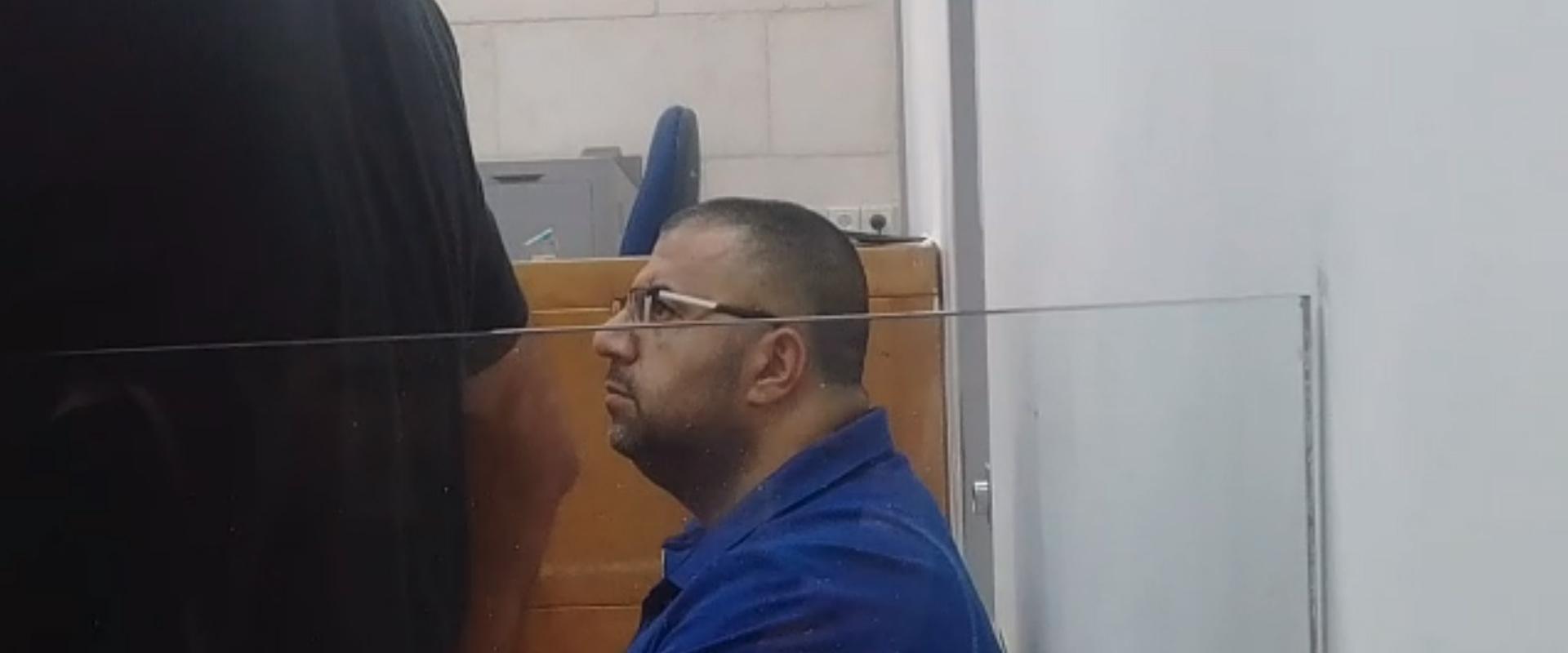 אחמד נקיב בבית המשפט