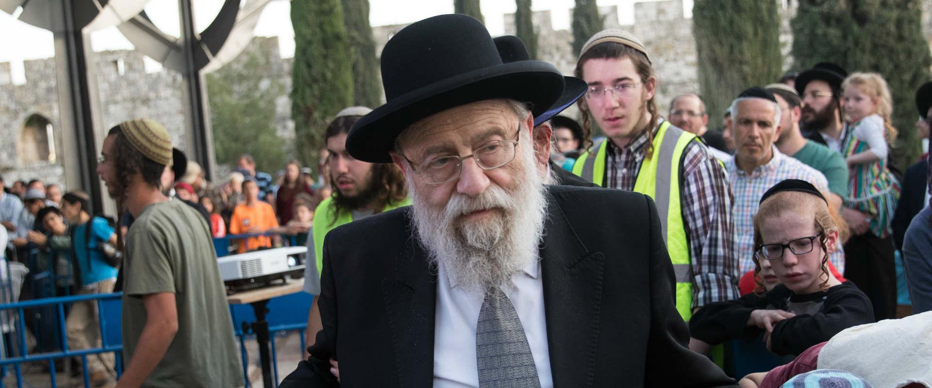 הרב הראשי של ירושלים אריה שטרן