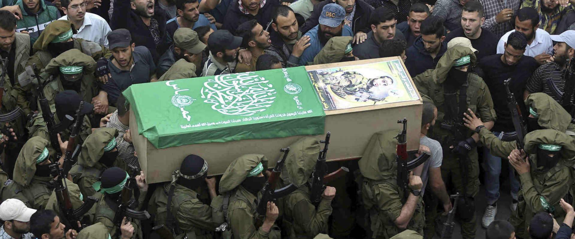 הלווייה של פעילי חמאס