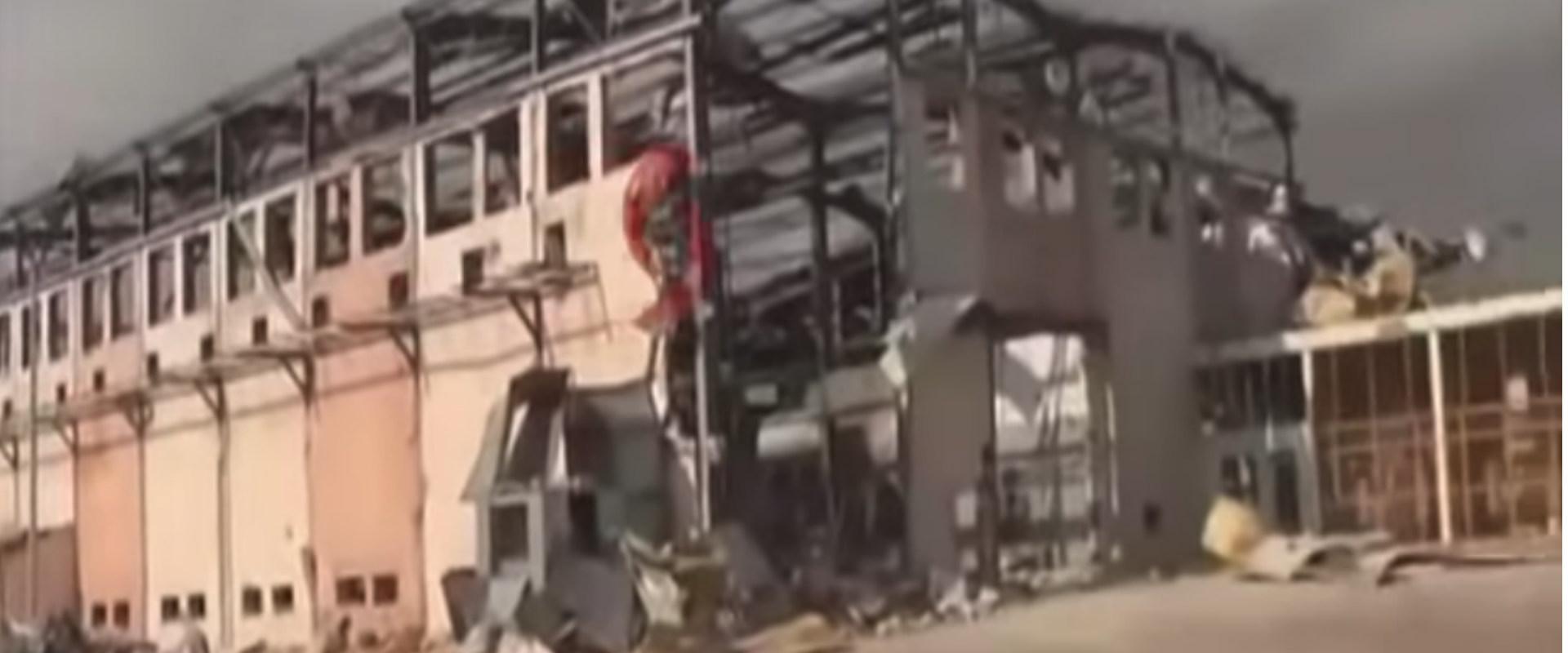 ההרס במפעל בלטקייה
