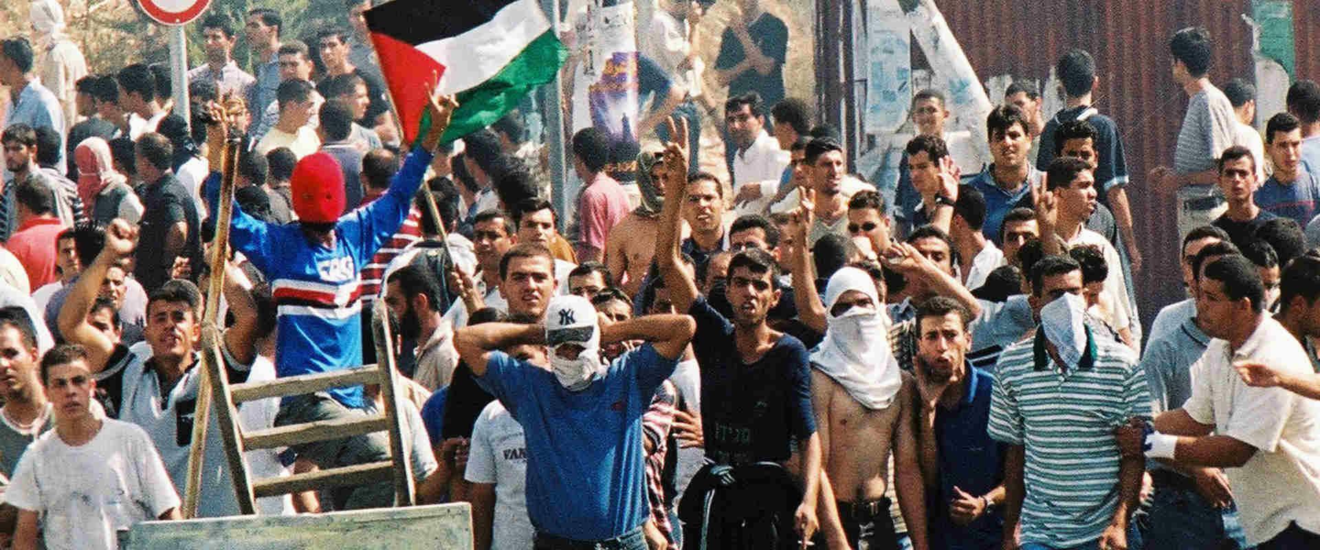 הפגנה אלימה של ערביי ישראל