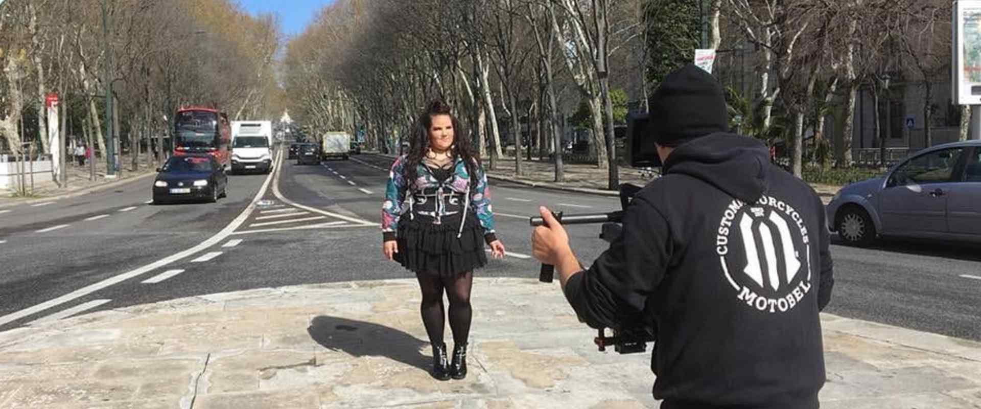 צילומי הגלויה של נטע באירוויזיון 2018