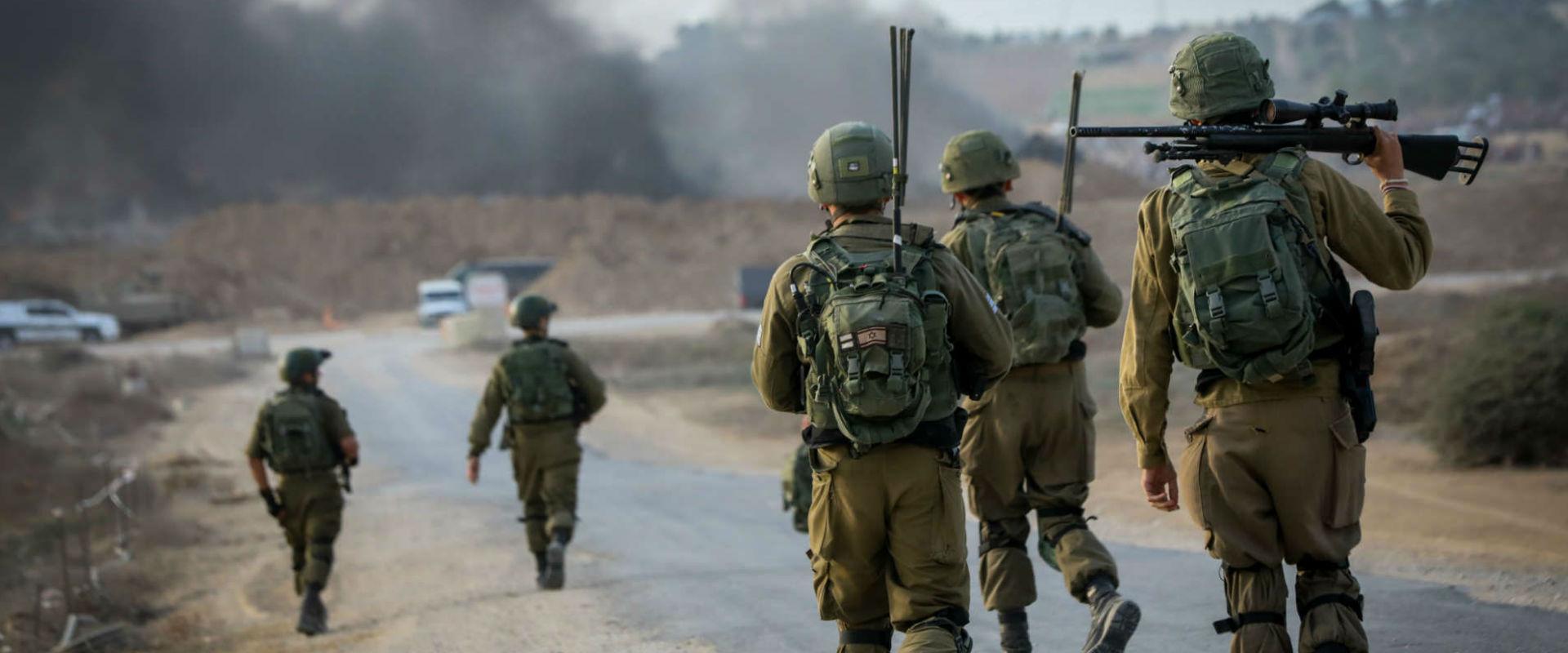 חיילים בגבול עזה (ארכיון)