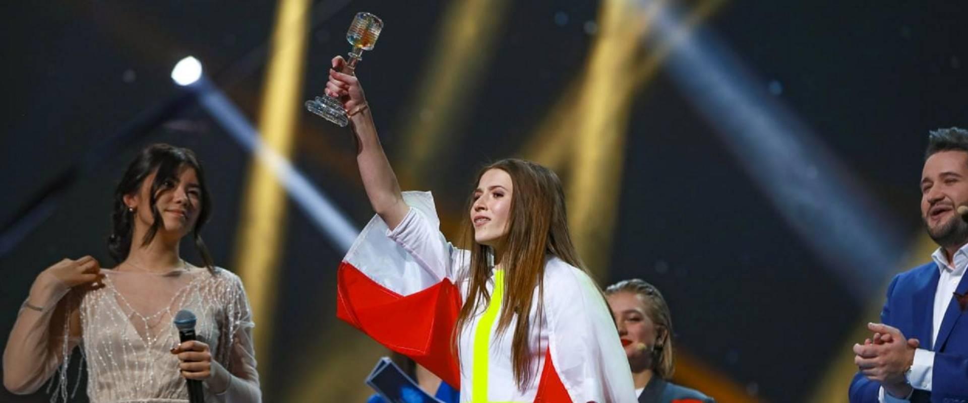 רוקסנה ונגיאל, המנצחת של אירוויזיון ג'וניור 2018