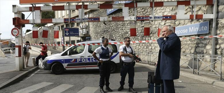זירת הפיגוע במרסיי, צרפת